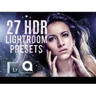27 HDR Lightroom Preset