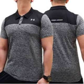 Under Armour Polyester Slim Fit Polo