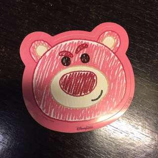 香港迪士尼 Disney 盧蘇 反斗奇兵 Toy story 貼紙