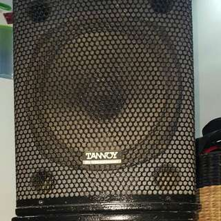 TANOY Speakers x 2 - 12""