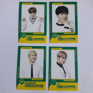 BTS 3rd Muster Player Card