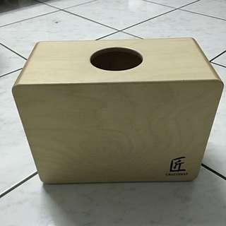 匠CRAFTSMAN台灣製 旅行迷你木箱鼓C-CJG100(小鼓響線)聲音與質感佳