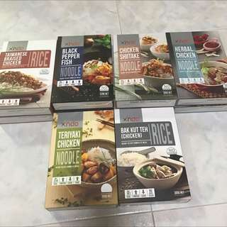 Xndo Ready-To-Eat Meals *SOLD*