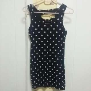 Polka Dots Bodycon Dress