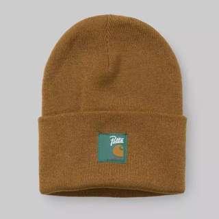 Carhartt X Patta 毛帽