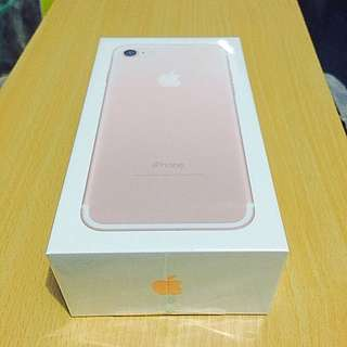 ..:::*iPhone 7 ROSE GOLD 32GB UNOPENED!*:::..