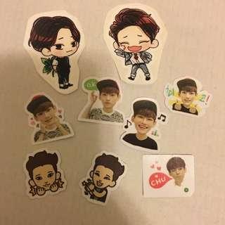 EXO CHEN貼紙