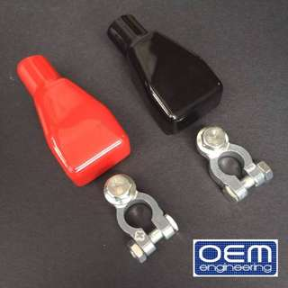 OEM Engineering OEM style battery terminal with  covers  set