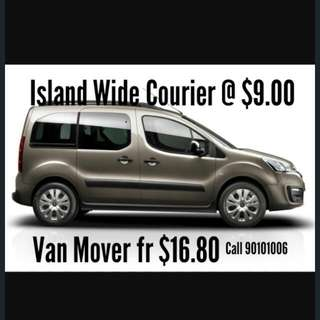 Island-Wide Courier $9.00 Flat Rate