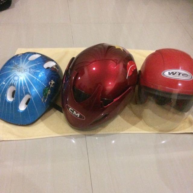 3 Item Helmet
