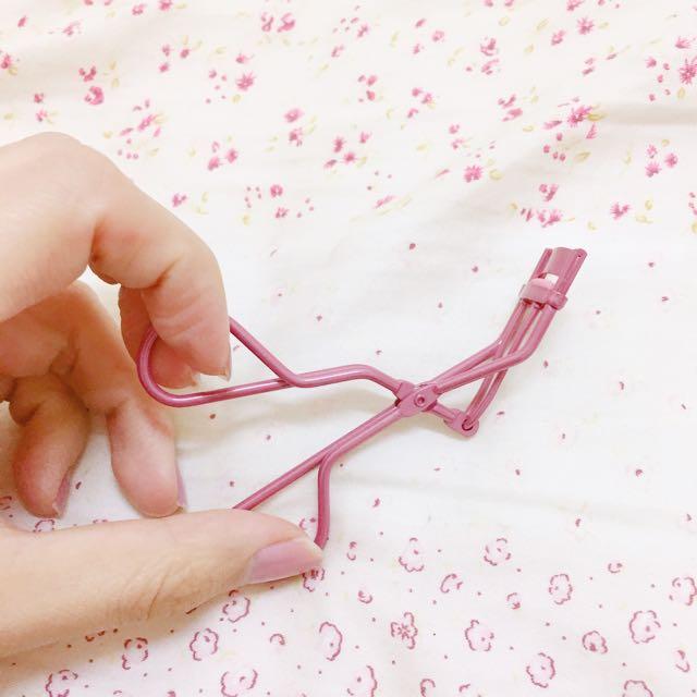 日本購入桃紅色局部睫毛夾