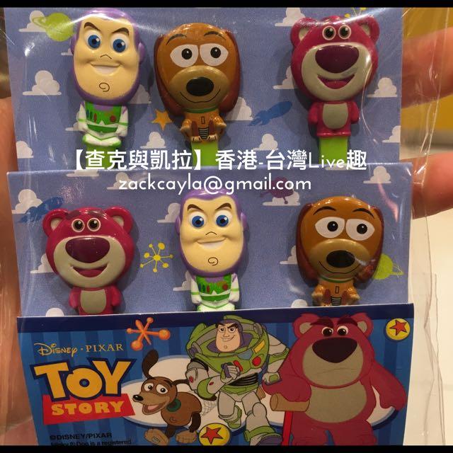 【查克與凱拉】玩具總動員 小叉子(香港迪士尼)