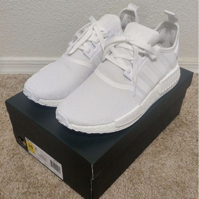 Adidas NMD R1 Triple White!