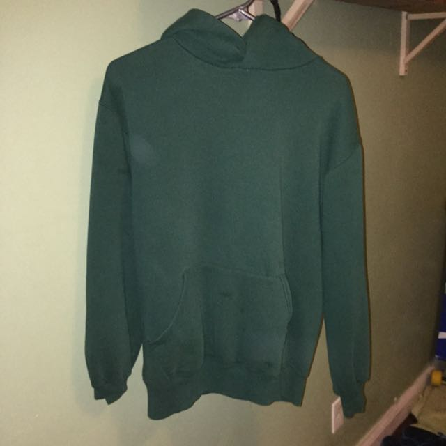 ALL ITEMS ON SALE Medium Green Baggy hoodie
