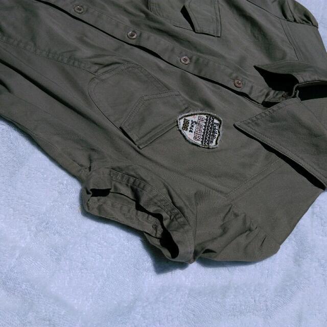Army Mini Dress