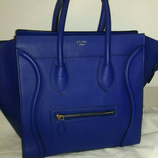 Reprice Authentic Celine Luggage Ladies Handbag (2014)