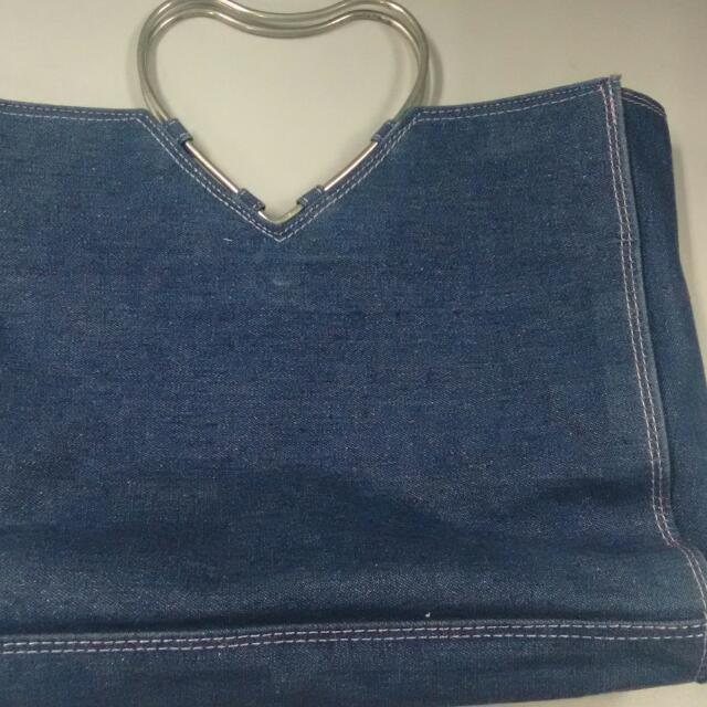 Heart Shaped Handle Bag