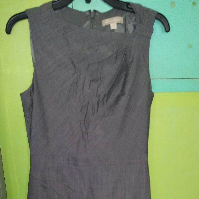 Banana Republic Gray Dress Size 8