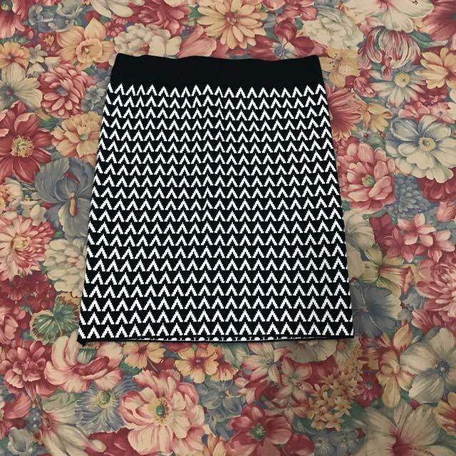 Bandage Knitted  Skirt