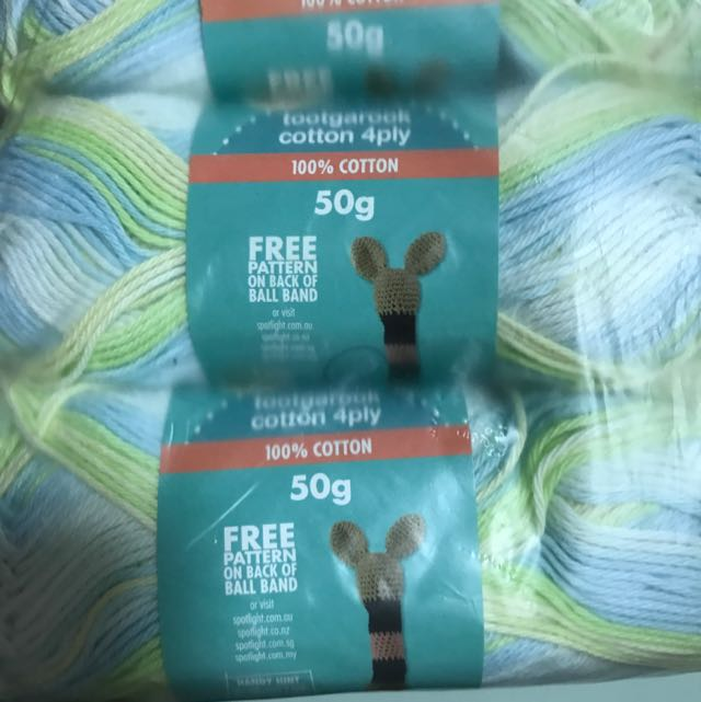 Bella Baby Tootgarook Cotton 4ply Knitting Yarns Price Includes