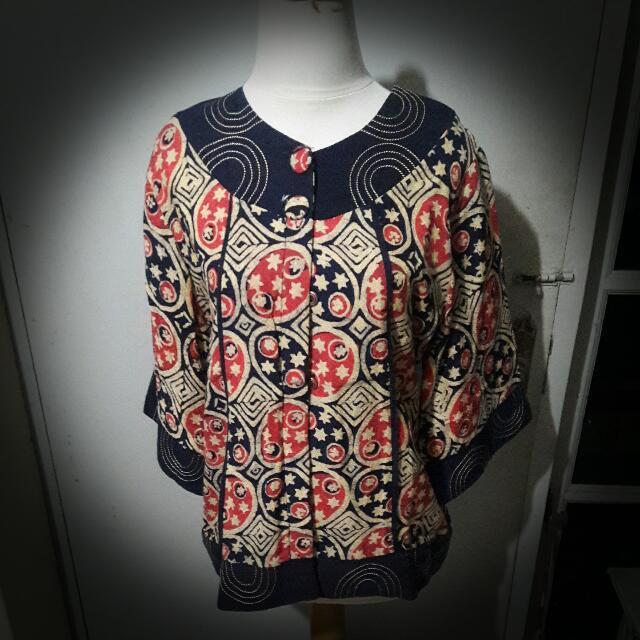 Blouse Atasan Baju Batik