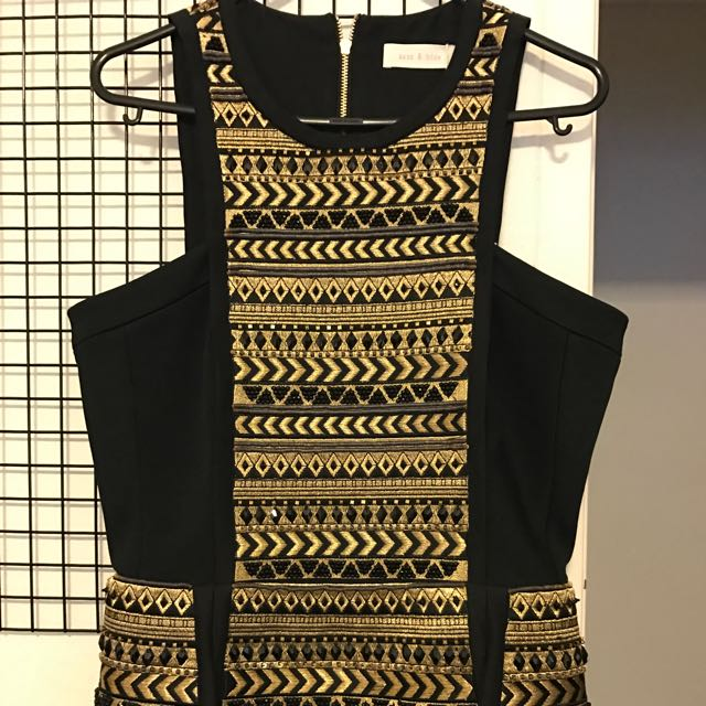 BNWT SASS&BIDE BEADED DRESS