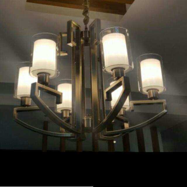 Repriced!Rush Sale!!BRAND NEW CHANDELIER FOR SALE