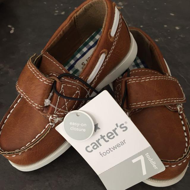 Carter Toddler Boat Shoe