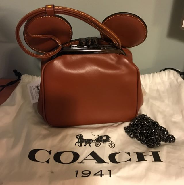 COACH X MICKEY MOUSE Cross Body Bag