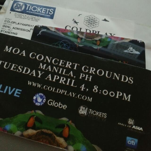 Coldplay Gen Ad Ticket Rush!!