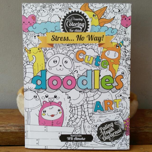 "Coloring Book ""Cute Doodle Art"""