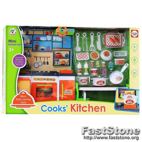Cook Kitchen Mainan Anak Perempuan Masak Masakan Toys Collectibles Mainan Di Carousell