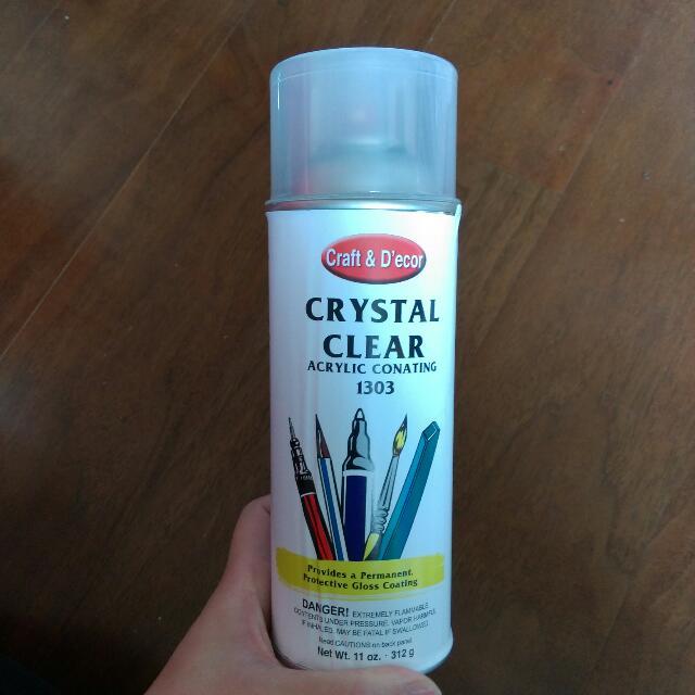 Craft&D'ecor 1303晶體保護噴膠(透明亮光)