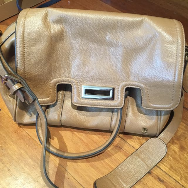 David Lawrence Brown Hand Bag