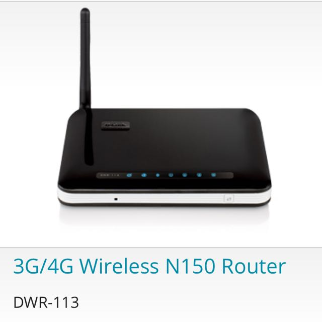 D-Link 3G/4G Wireless N150 Router