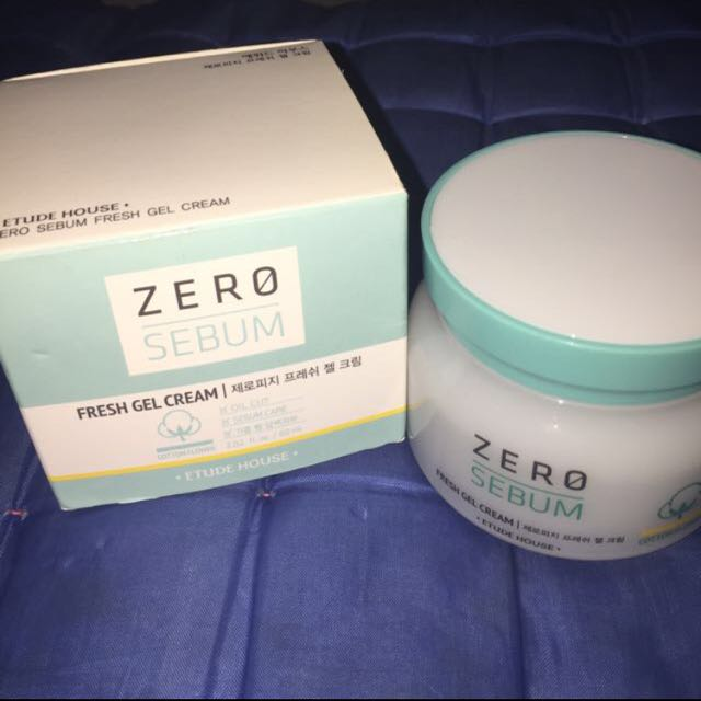 [Reprice] Etude House Zero Sebum Gel Cream!
