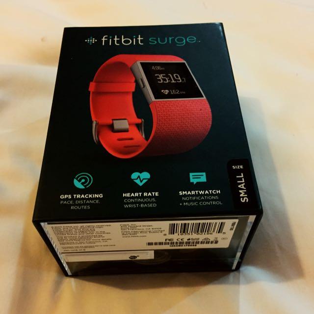 Fitbit surge Brand New tangerine small