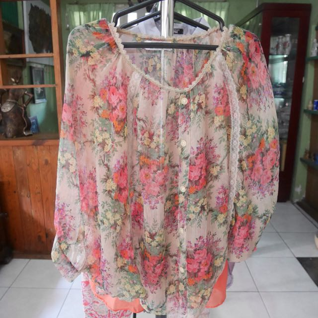 Flower Outter [Preloved]