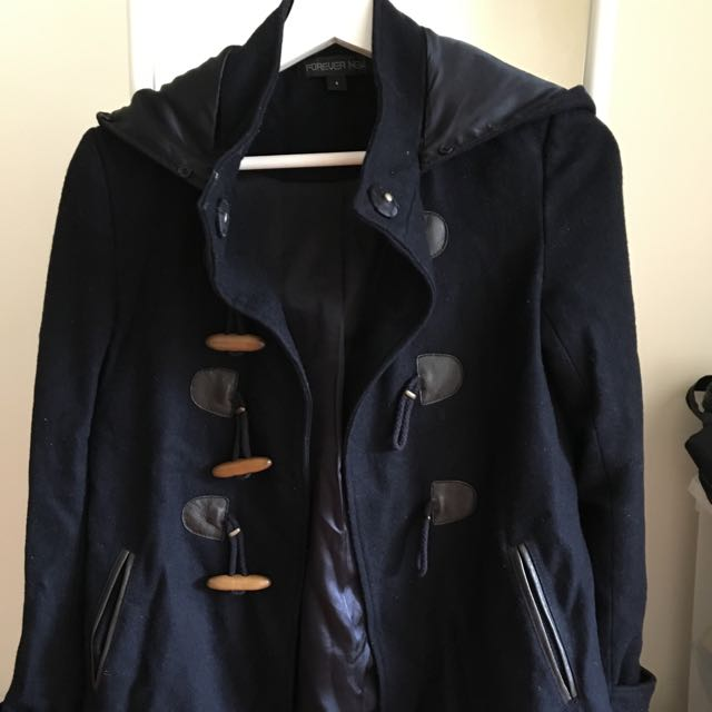 Forever new Deep Blue Jacket Size6