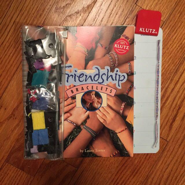 Friendship Bracelet Book And String!!