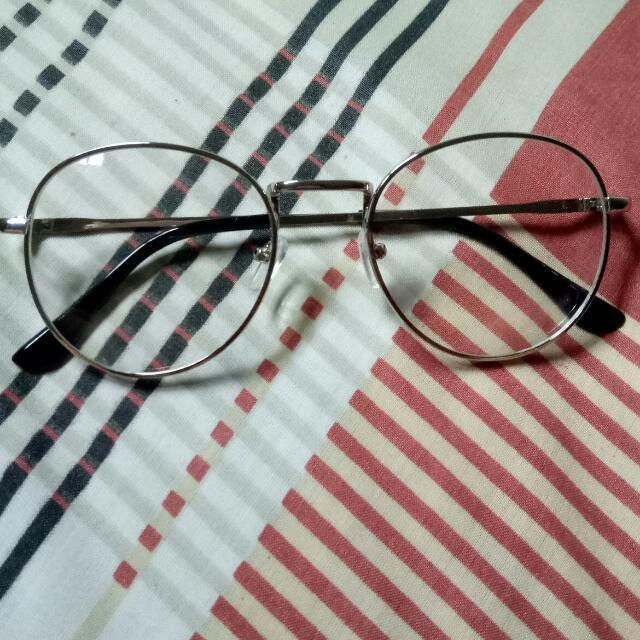 Glasses silver (Kacamata Kekinian)