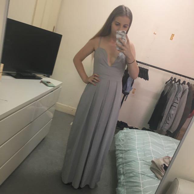 Grey Luvalot Dress