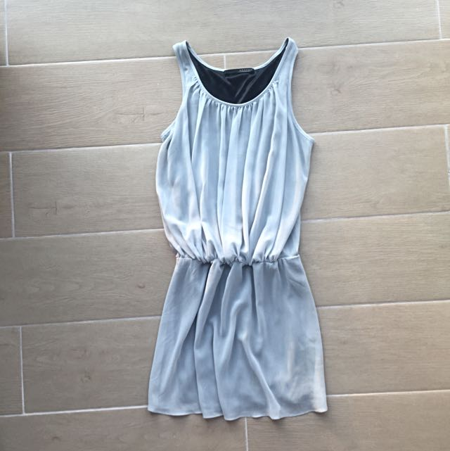 Grey semi- formal dress