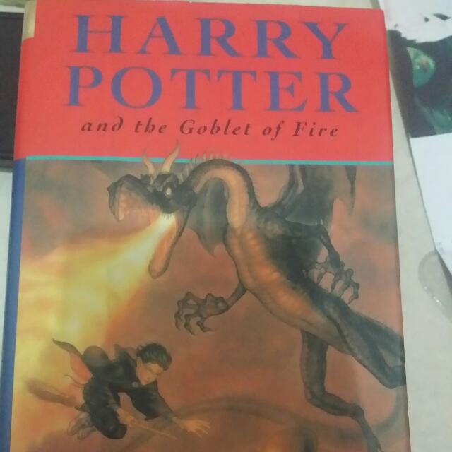 Harry Potter BRITISH EDITION: Goblet Of Fire