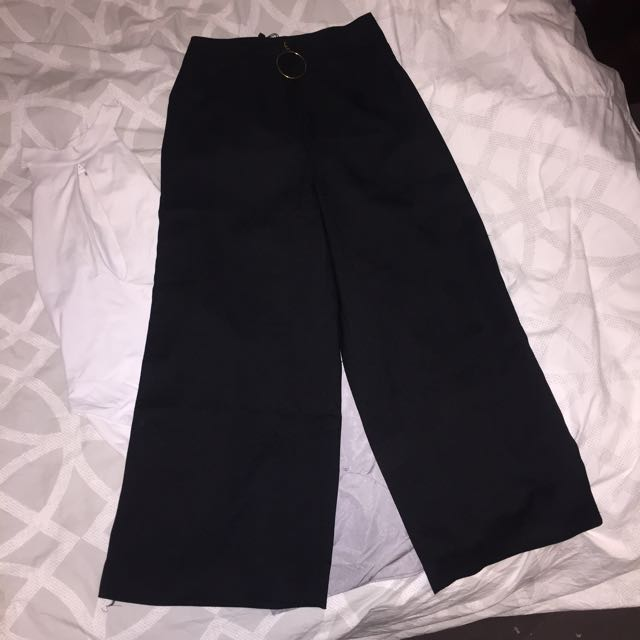 High Wasted Black Trousers