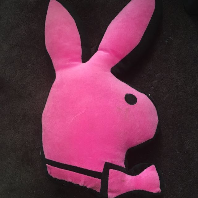 Hot Pink Playboy Pillow Home Furniture Decor On Carousell