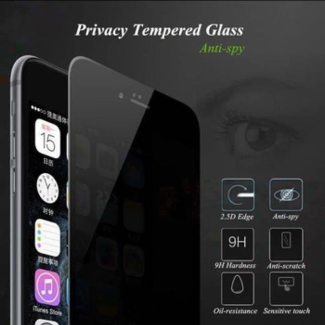 Iphone 7 Anti Spy Privacy Tempered glass