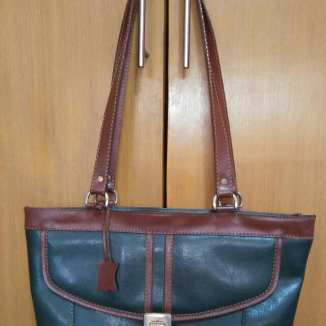 japan made leather bag