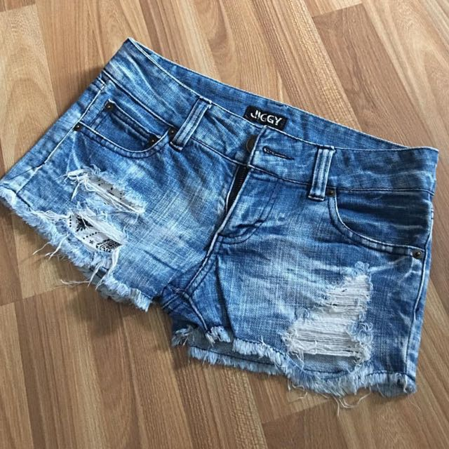 JIGGY Ripped Hot pants