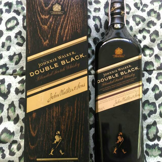 Johnnie Walker Double Black 1Liter